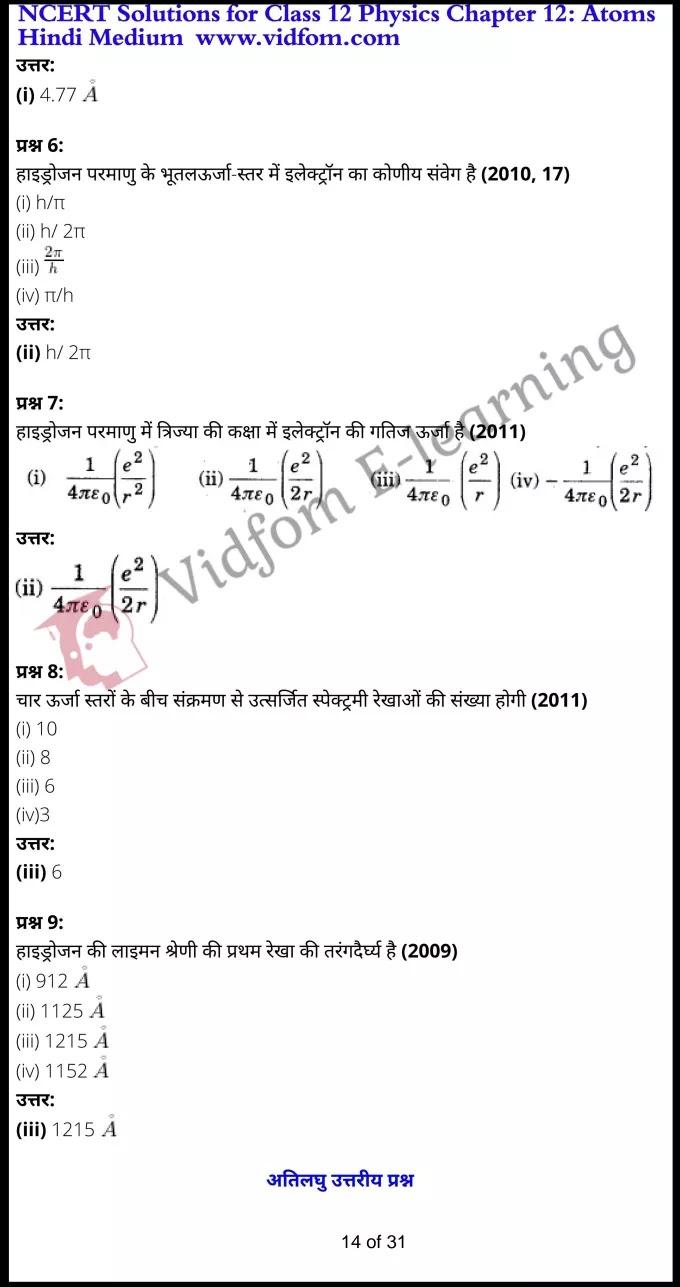 class 12 physics chapter 12 light hindi medium 14