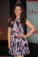 Kyra Dutta in a Deep neck Small Dress at Shamanthakamani pre release function ~  Exclusive 104.JPG