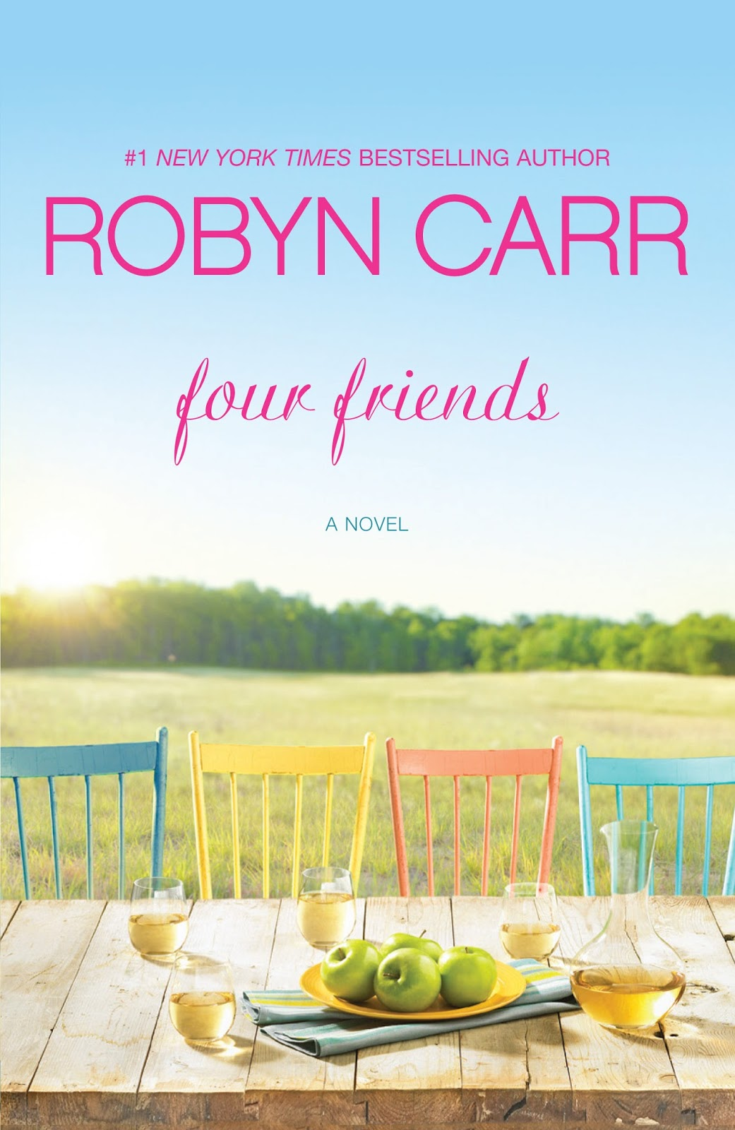 Book cover of Four Friends.