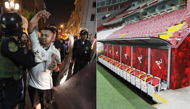 IPD suspendió liga de fútbol peruano