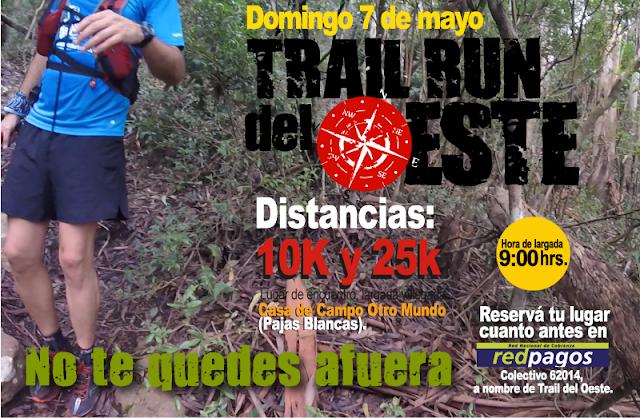 Trail del Oeste de Montevideo (07/may/2017)