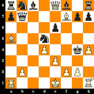 Les Blancs jouent et matent en 3 coups - Magnus Carlsen vs Lorenz Drabke, Budapest, 2003