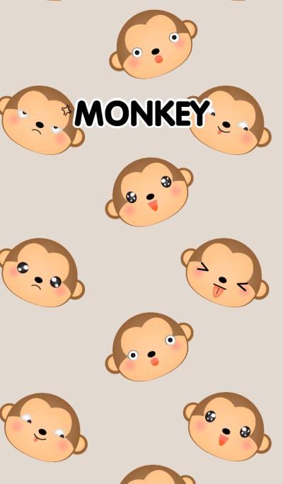 Emotions Face Monkey Theme