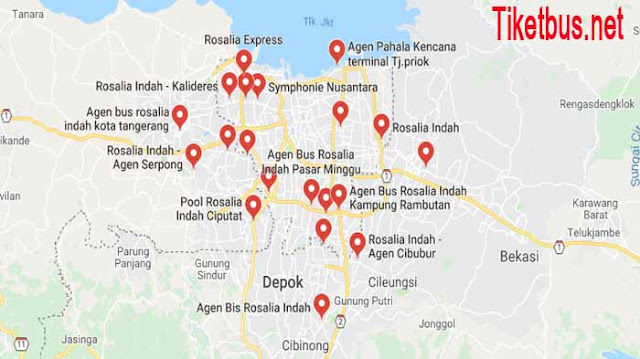 Agen Bus Rosalia Indah Jakarta
