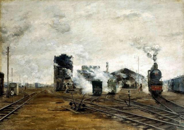 «Транспорт налаживается», Яковлев Борис Николаевич, 1923 г.