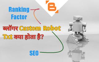 custom robot txt file kaya hota hai