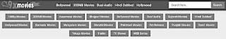 Different movie categories of 9xmovies