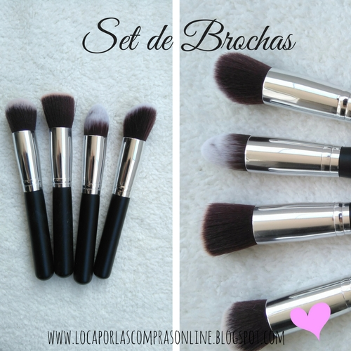 haul set de make up  blogger