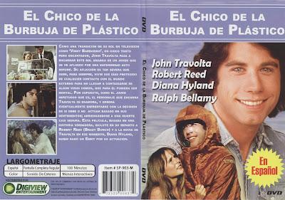 Carátula dvd: El chico de la burbuja de plástico (1976)