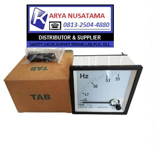 Jual HZ Meter Tab Frequency 45-65 HZ di Tasik
