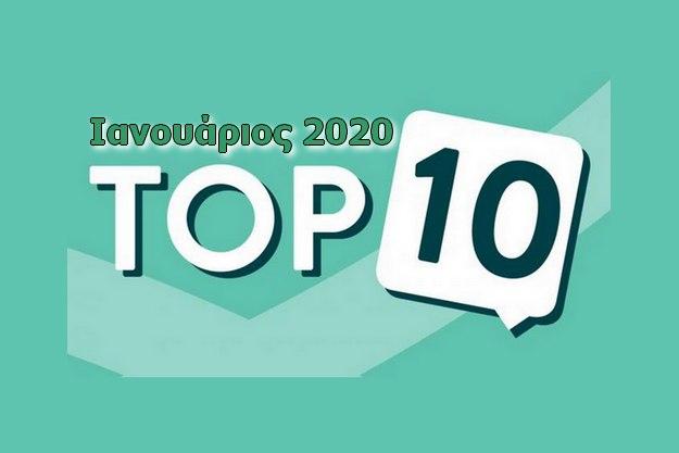 Τα 10 Δημοφιλέστερα δωρεάν προγράμματα για τον Ιανουάριο του 2020