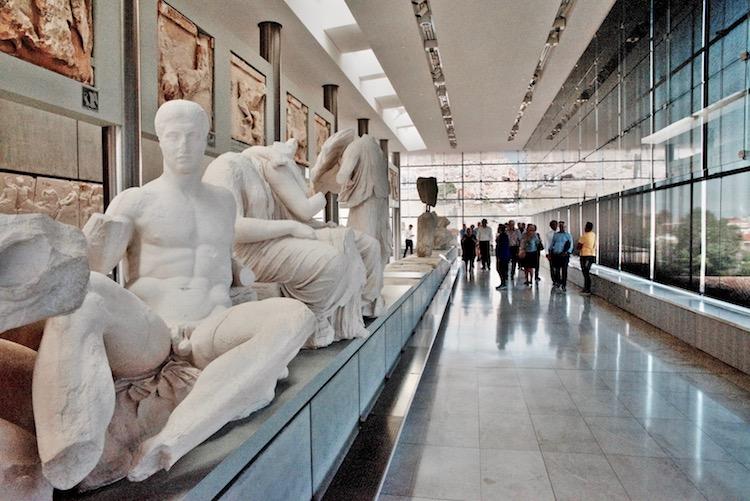 Muzeum Akropolu Ateny Grecja