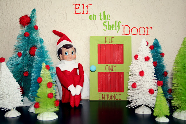 Buggie And Jellybean Elf On The Shelf Door On The Cheap