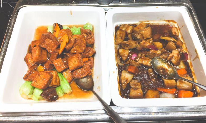 Filipino food at City Buffet