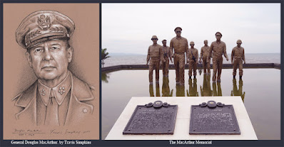 General Douglas MacArthur, 33°. United States Army. WWII. Freemason. by Travis Simpkins