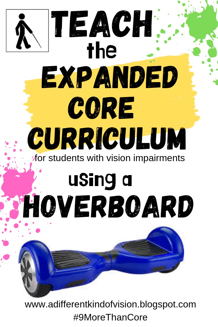 """a graphic that says """"teach the expanded core using a hoverboard"""""""
