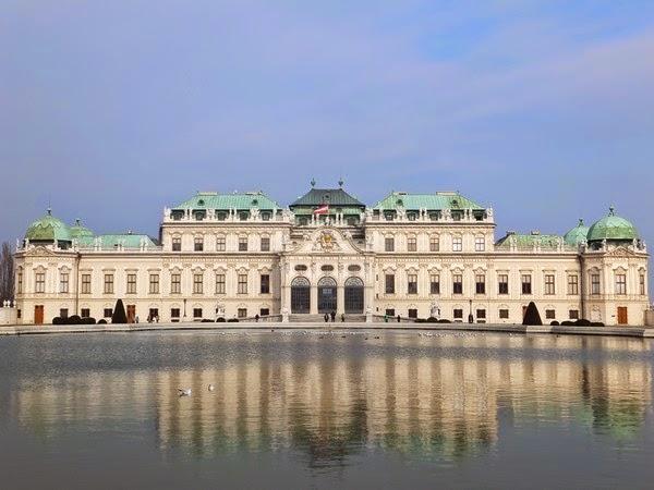 Vienne Wien art nouveau sécession belvédère château gustav klimt
