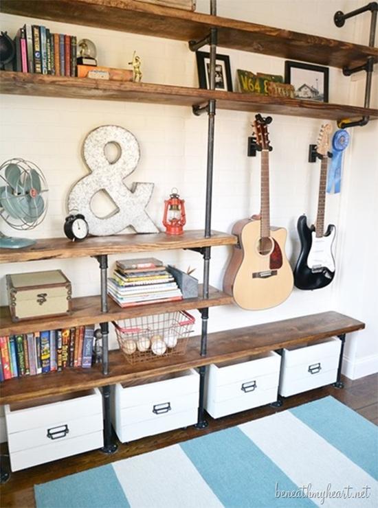 estante com cano, pipe shelves, estante, faça você mesmo, diy, a casa eh sua, acasaehsua, móvel, armário, estante industrial