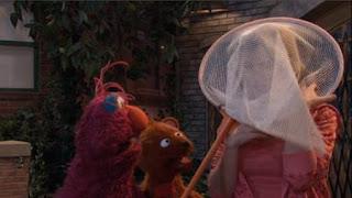 Telly, Baby Bear, Gina, Sesame Street Episode 4410 Firefly Show season 44