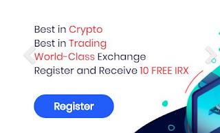 Bonus Crypto Tanpa Deposit IronX 10 IRX