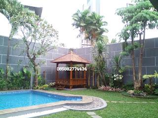 jasa pembuatan taman rumah halaman belakang