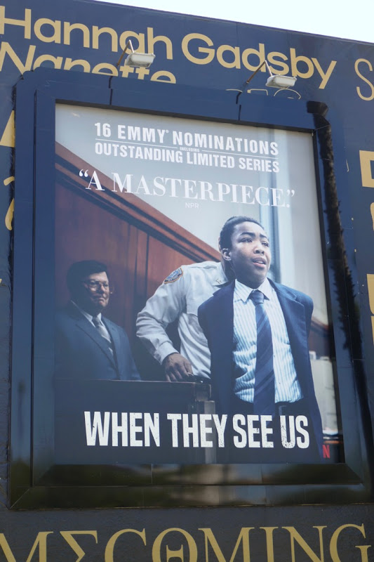 When They See Us 2019 Emmy nominee billboard