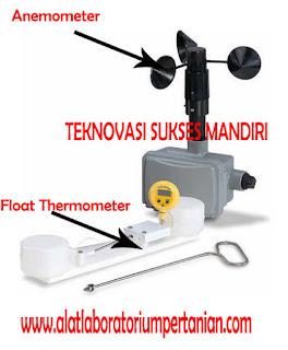 alat ukur kecepatan angin dan suhu