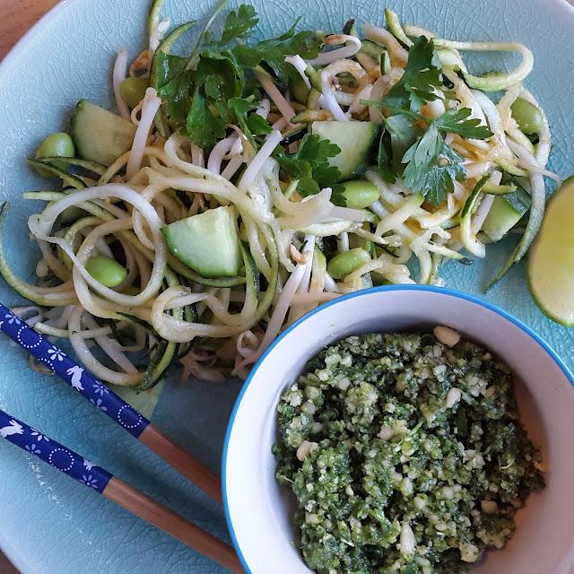 raw vegan pad thai recipe