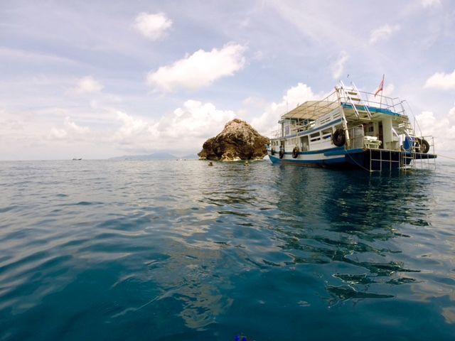 Sukellus Sail Rockilla Koh Phanganilla