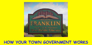 Franklin Civics Forum: How Your Town Government Works - Sep 25