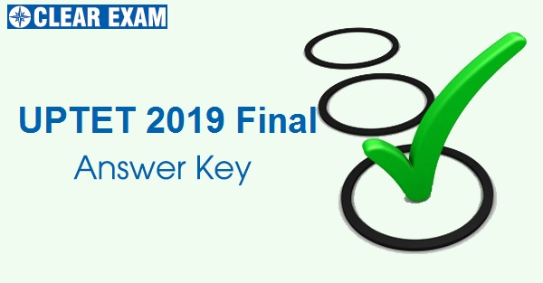 UPTET 2019 Final Answer Key