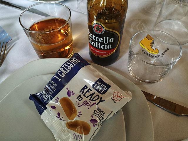 Colines y cerveza sin gluten en Asador Roberto Valdemanco