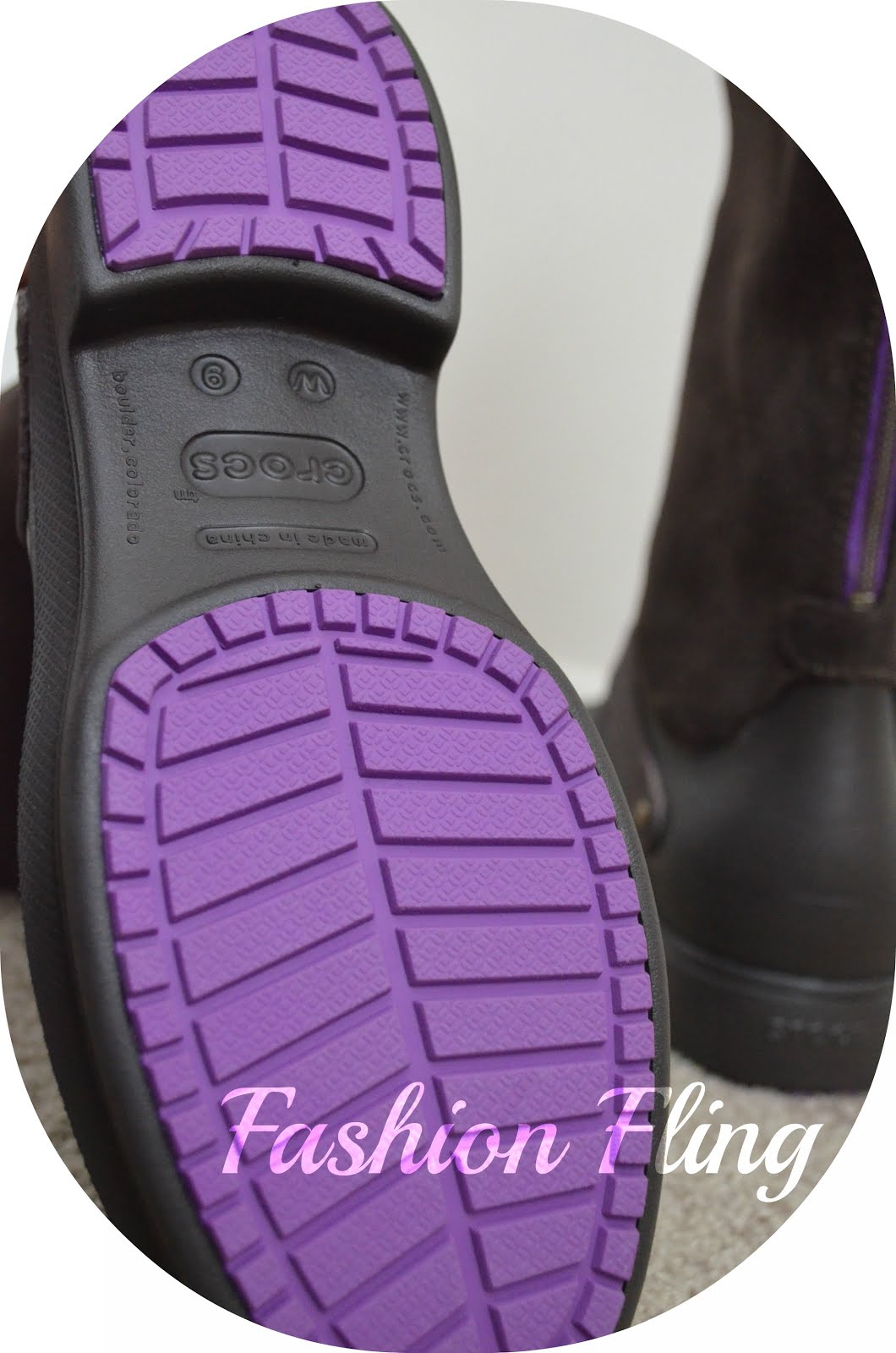 97530fd8e5fa The Croslite™ is an innovative and substantial material outsole, featuring  rubber outsole pods that provide traction and durability.
