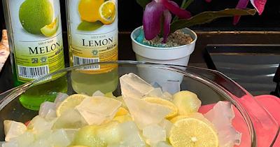 Es Melon Lemon Tea