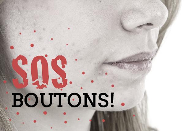 Boutons adulte acné visage soins traitement hormones
