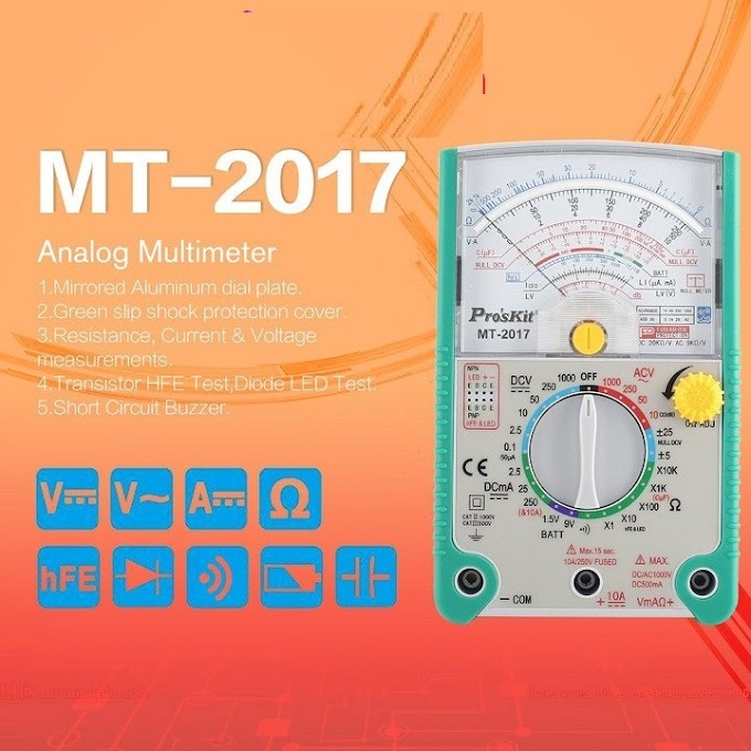 Đồng hồ vạn năng Proskit MT-2017 cơ