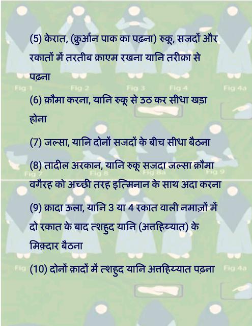 auraton ki namaz padhne ka tarika in hindi औरतों की नमाज़ पढ़ने का सही तरीक़ा