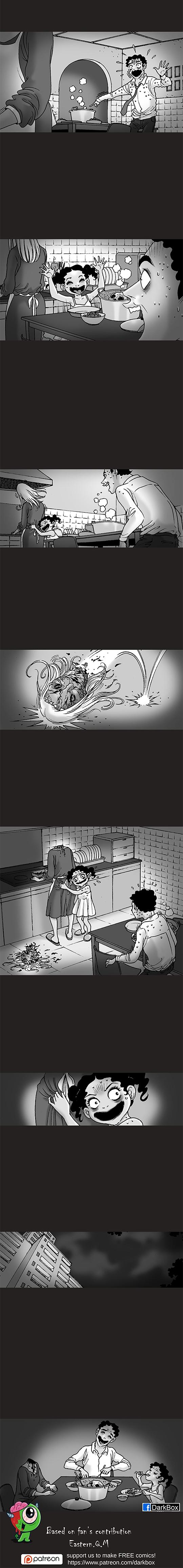 Silent Horror chap 96: Bữa tối thịt người