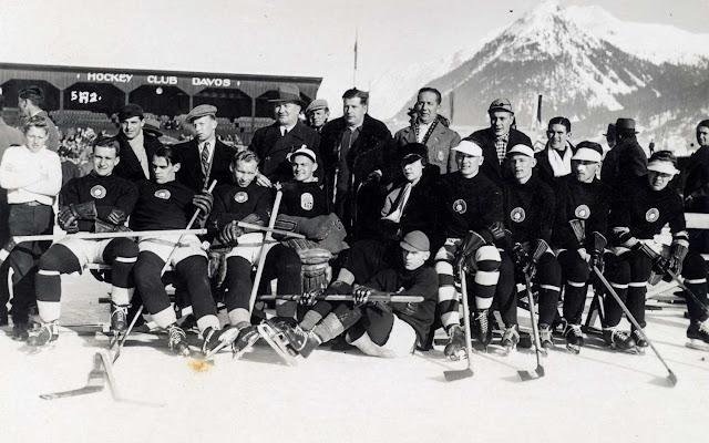 Сборная Латвии по хоккею на Чемпионате мира 1935 в Давосе