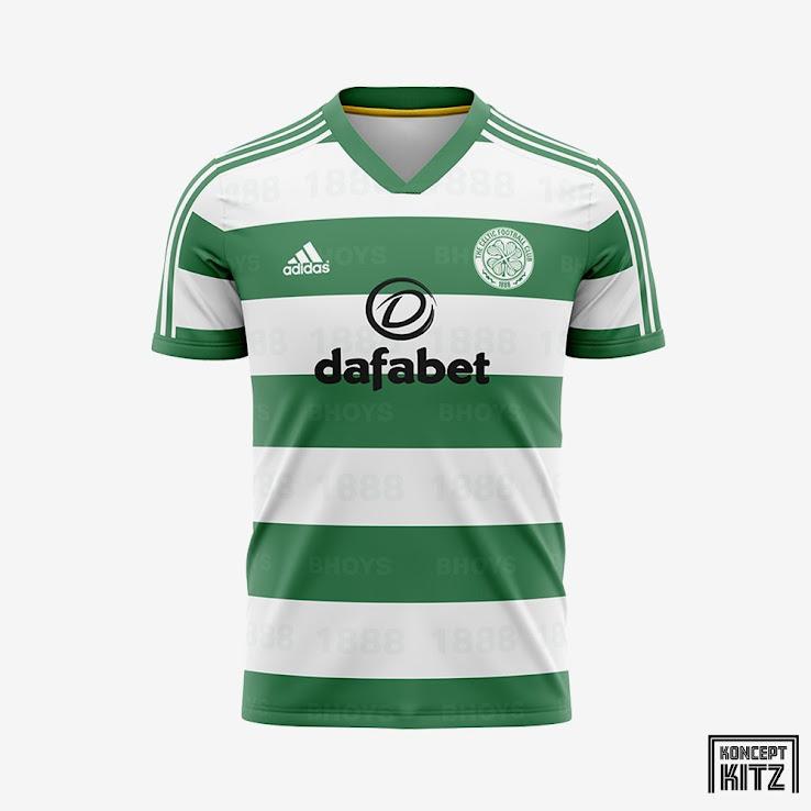 No More New Balance Adidas Celtic 20 21 Concept Kits Footy Headlines