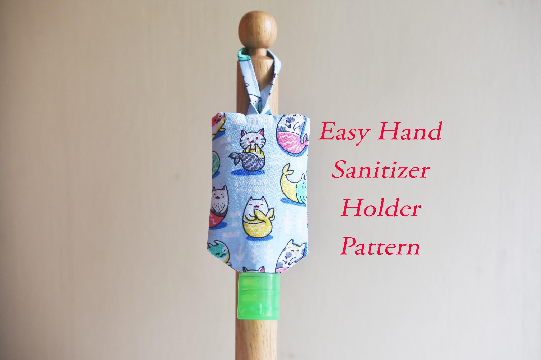 Easy Hand Sanitizer Holder