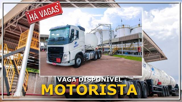 Transportadora Masut abre vagas para motorista  em seis Estados
