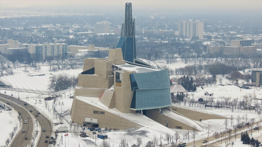 Canadian Museum for Human Rights by Robert Linsdell
