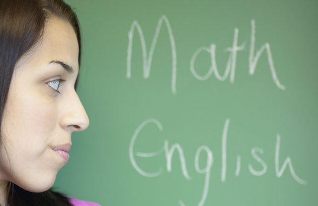 The battle of Mathematics and English