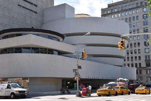 Guggenheim-museo-New York-Wright-architettura