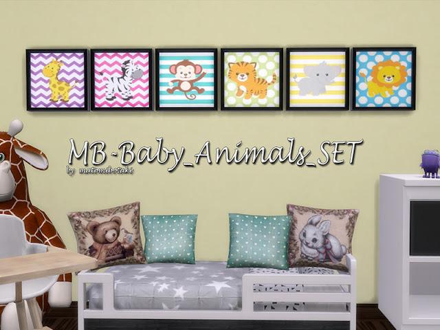 Игрушки и декор для детской комнаты Sims 4 со ссылками на скачивание