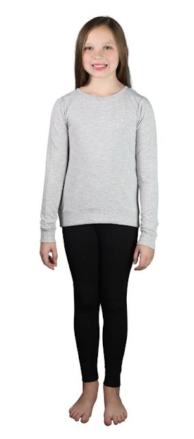 Girls Super Soft Full Length Legging by 90 Degrees Reflex