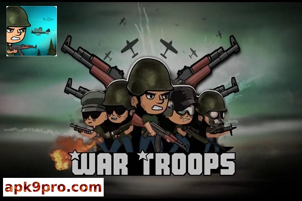 War Troops: Military Strategy Game for Free v1.22 Apk + Mod (File size 43 MB) for android