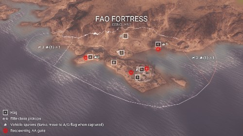 Fao Fortress Battlefield 1 Flak Locations