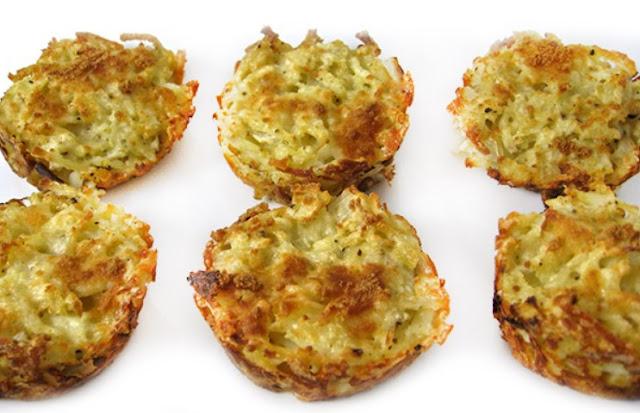 Cheesy Hash Brown Muffins - Weight Watchers Breakfast Ideas